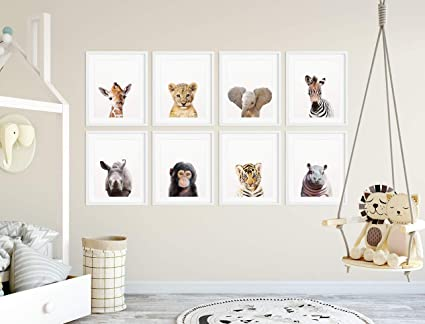 photo about Printable Safari Animals titled : MalertaART Safari Nursery Decor Safari Animal