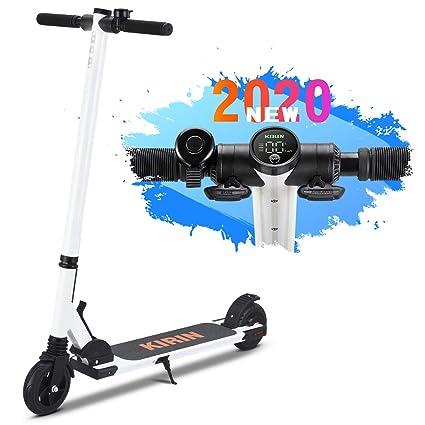 urbetter Kugoo ES01 Mini Patinete Eléctrico Scooter Plegable E-Scooter, Velocidad 20km/h, Ruedas 5.5