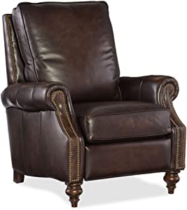 Hooker Furniture Sedona Chateau Leather Recliner in Brown