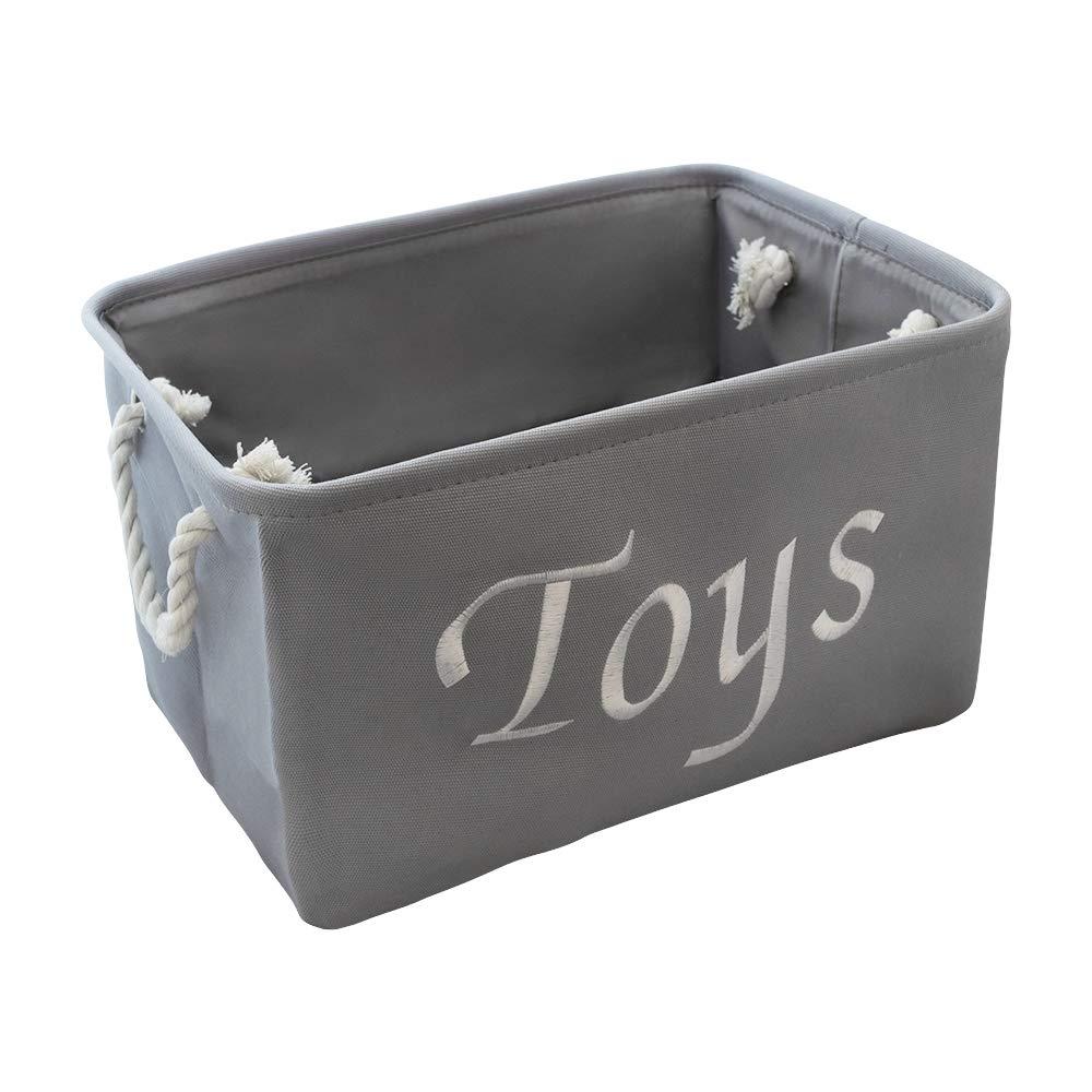 Large Storage Box Modern Designs Pro Embroidered Bin Book Tote for Kids Room Storage Basket for Nursery Books