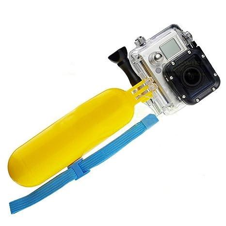 Palo Selfie Flotante para Gopro, Boya Flotador de Cámara Deportiva, Soporte Bobber Acuático, Electrónica Rey®: Amazon.es: Electrónica