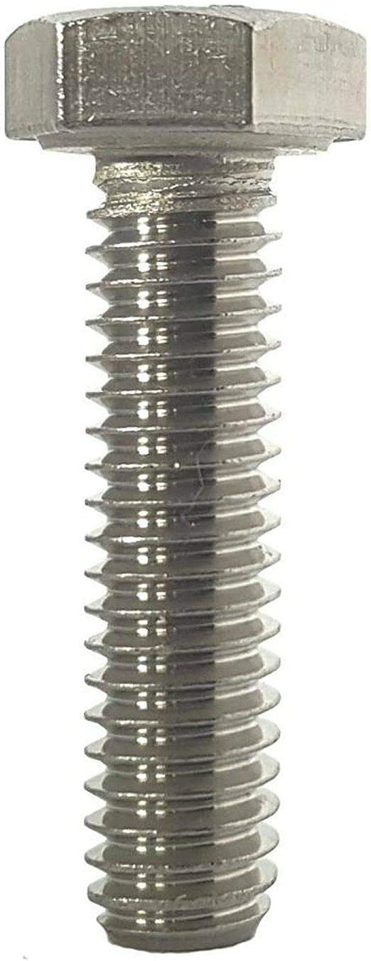 10-32 x 1-1//4 Stainless Steel Bolts Hex Head Grade 18-8 Qty 500