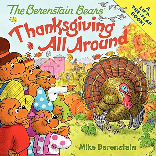 Image result for the berenstain bears thanksgiving all around