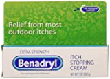 Benadryl Itch Stopping Cream Extra Strength, 1 Oz