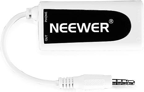Neewer® Guitar Bass para Smartphone Interfaz convertidor Adaptador ...