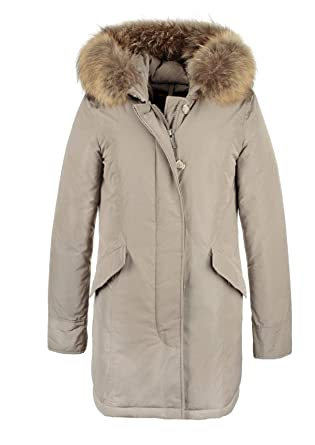 aed7fea6de Woolrich Parka Luxury Arctic WWCPS2604CF40 Cream Size:M: Amazon.it:  Abbigliamento