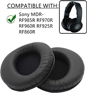 Ear Pads Cushions Covers Replacement Earpads Foam Pillow for Sony MDR-RF985R MDR RF985RK RF985R Headphone