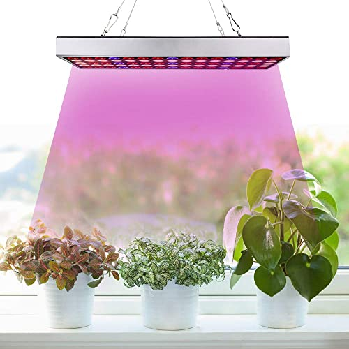 LED Grow Light Strips for Indoor Plants,24W Led Plant Grow Light 10 Dimmable Levels, 3 Switch Modes,Auto ON Off 3 9 12H Timer,4Pcs LED Grow Light for Seed Starting,1.6ft Strip