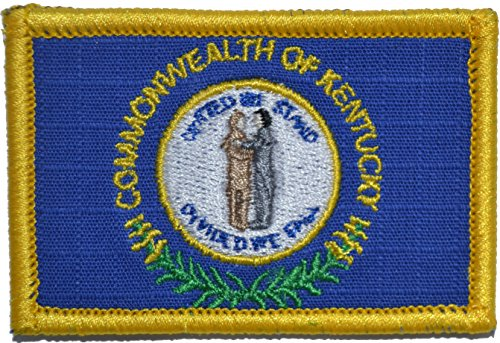 Commonwealth of Kentucky KY State Flag 2x3 Morale Patch