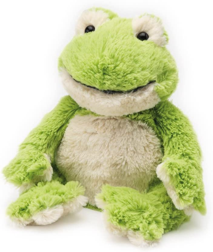 Warmies® Microwavable French Lavender Scented Plush Frog