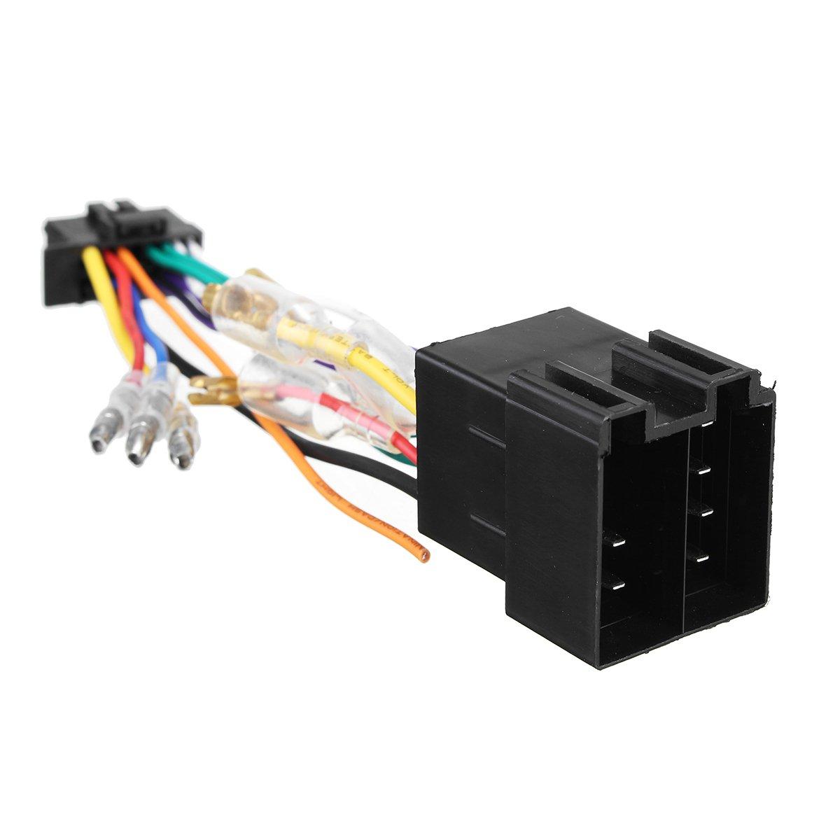 Viviance 16Pin Car Stereo Radio Cablaggio Connettore Spina ISO Pi100 per Pioneer 03-On