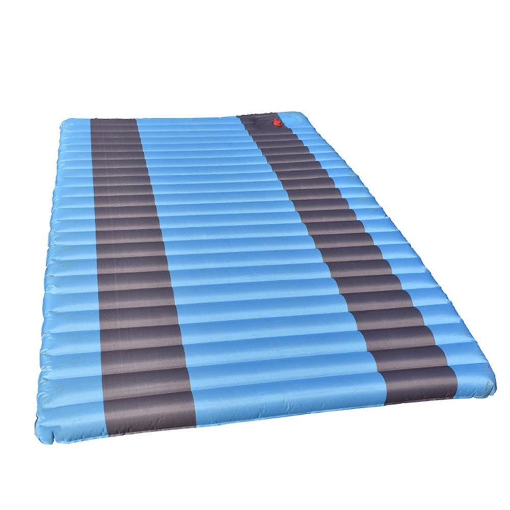 Aufblasbare Kissen Camp Lösungen Doppel Selbstaufblasende Luft Isomatte Für Outdoor Camping Outdoor Presse Aufblasbare Kissen Camping Strandmatte Feuchtigkeit Matte