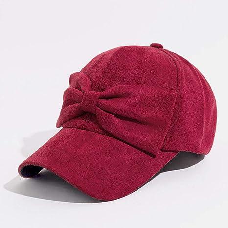 Yhtdhaq Gorra de béisbol de Moda para la Mujer de algodón Sombrero ...