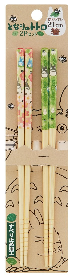 My Neighbor Totoro Design Japanese Bamboo Chopsticks Skater ANT4W