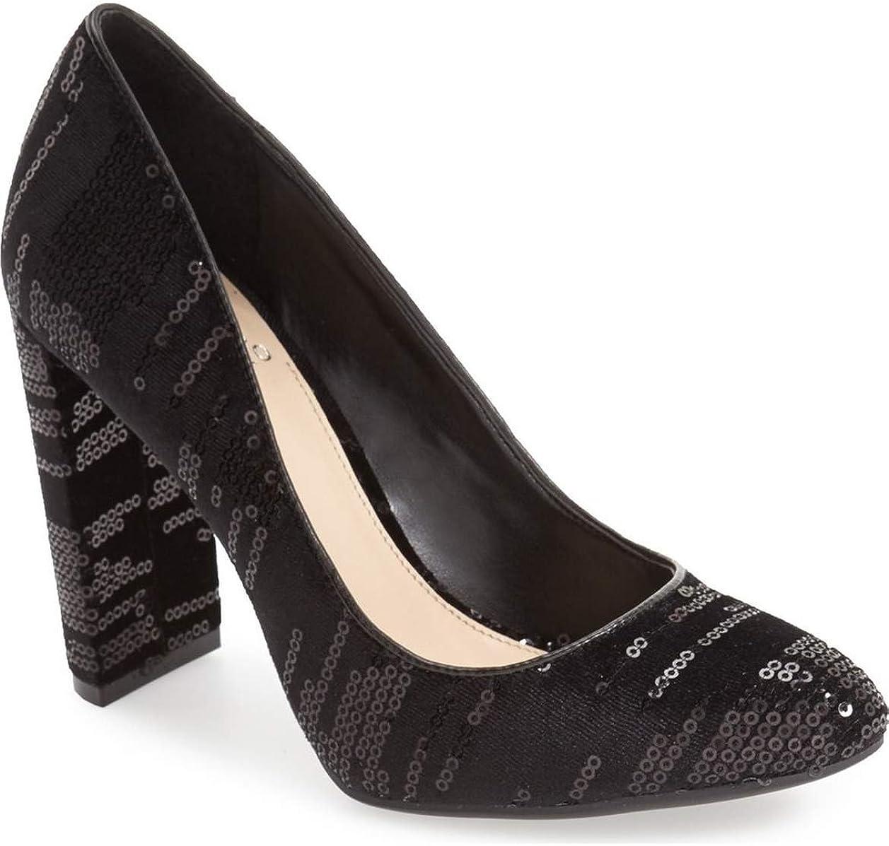 High Heel Pump Shoes Sparkle Sequin