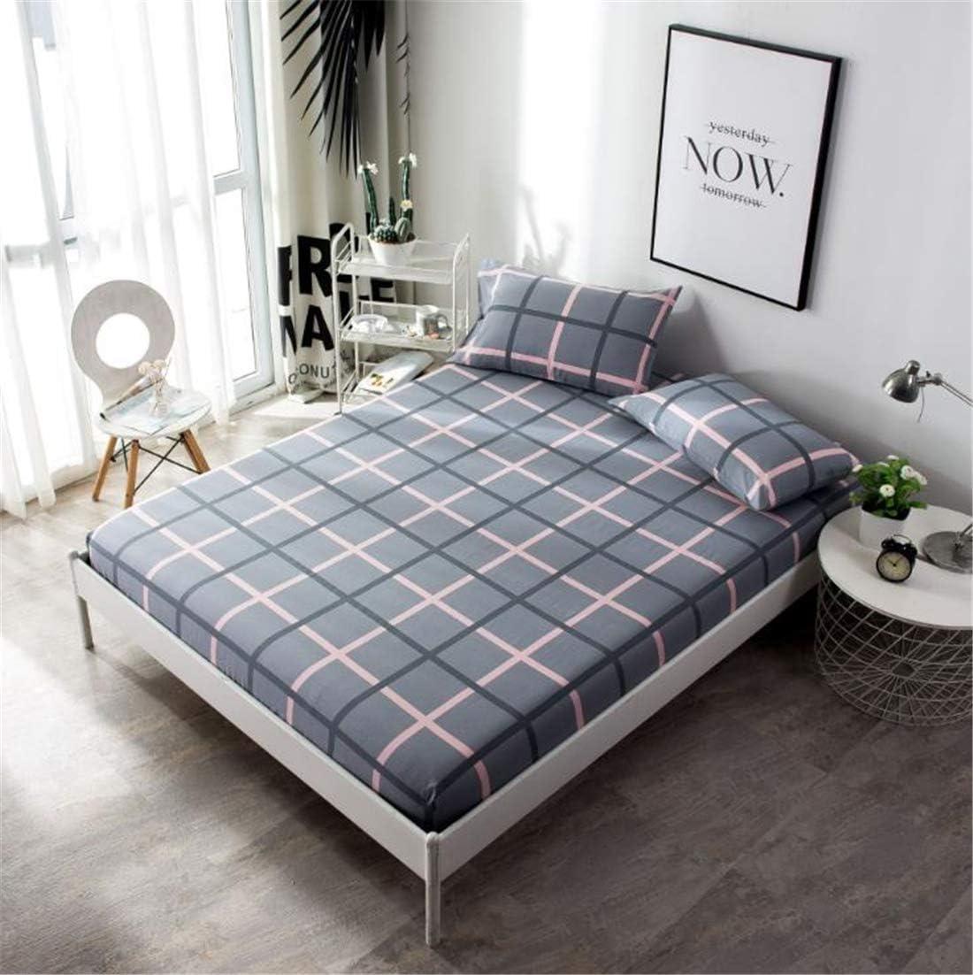 CHLCH Funda de colchón, Impermeable, Transpirable,Malla de algodón ...