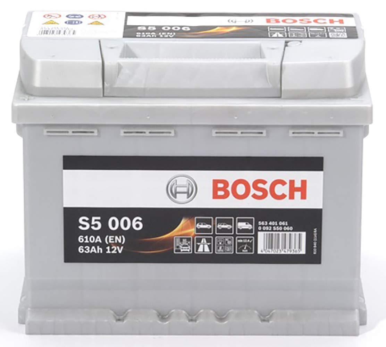 Bosch-S5006 Batteria Silver Auto 63A//h-610A