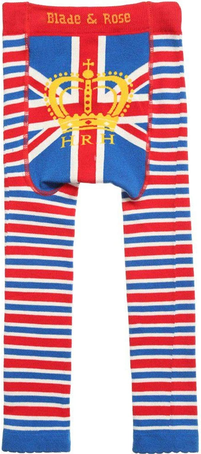 Royal Leggings.blue Blade and Rose Baby Boys HRH Leggings