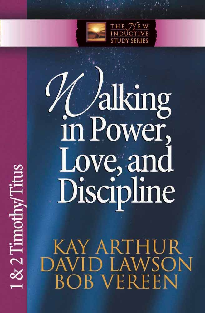 Walking Power Love Discipline Inductive product image