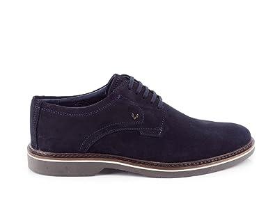 Blucher Martinelli Serraje Marrón, Azul, 40: Amazon.es: Zapatos y complementos