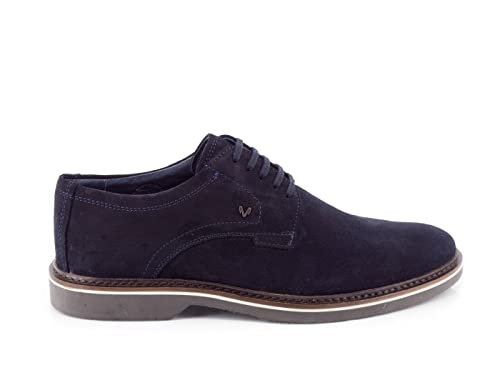 Blucher Martinelli Serraje Marrón, Azul, 40: Amazon.es: Zapatos y complementos