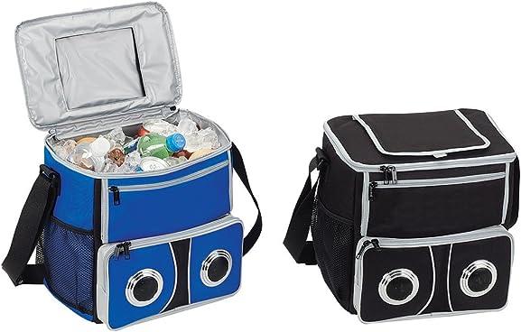 Beach Picnic 24-pack Sound Cooler W/speaker (BLUE)