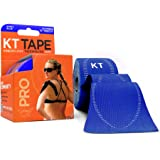 KT TAPE PRO Kinesiology Sports Tape, 20 Precut 10 Inch Strips, 100% Synthetic, Water Resistant, Breathable, Free Videos, Pro & Olympic Choice