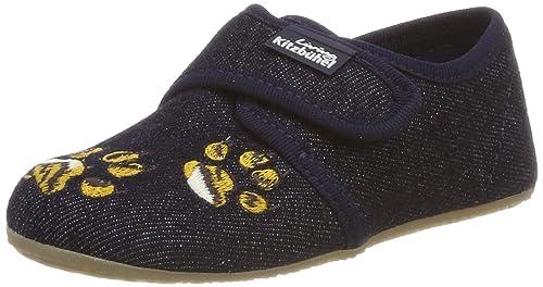Living Kitzbühel Klettmodell Tiger, Zapatillas de Estar por Casa para Niños: Amazon.es: Zapatos y complementos