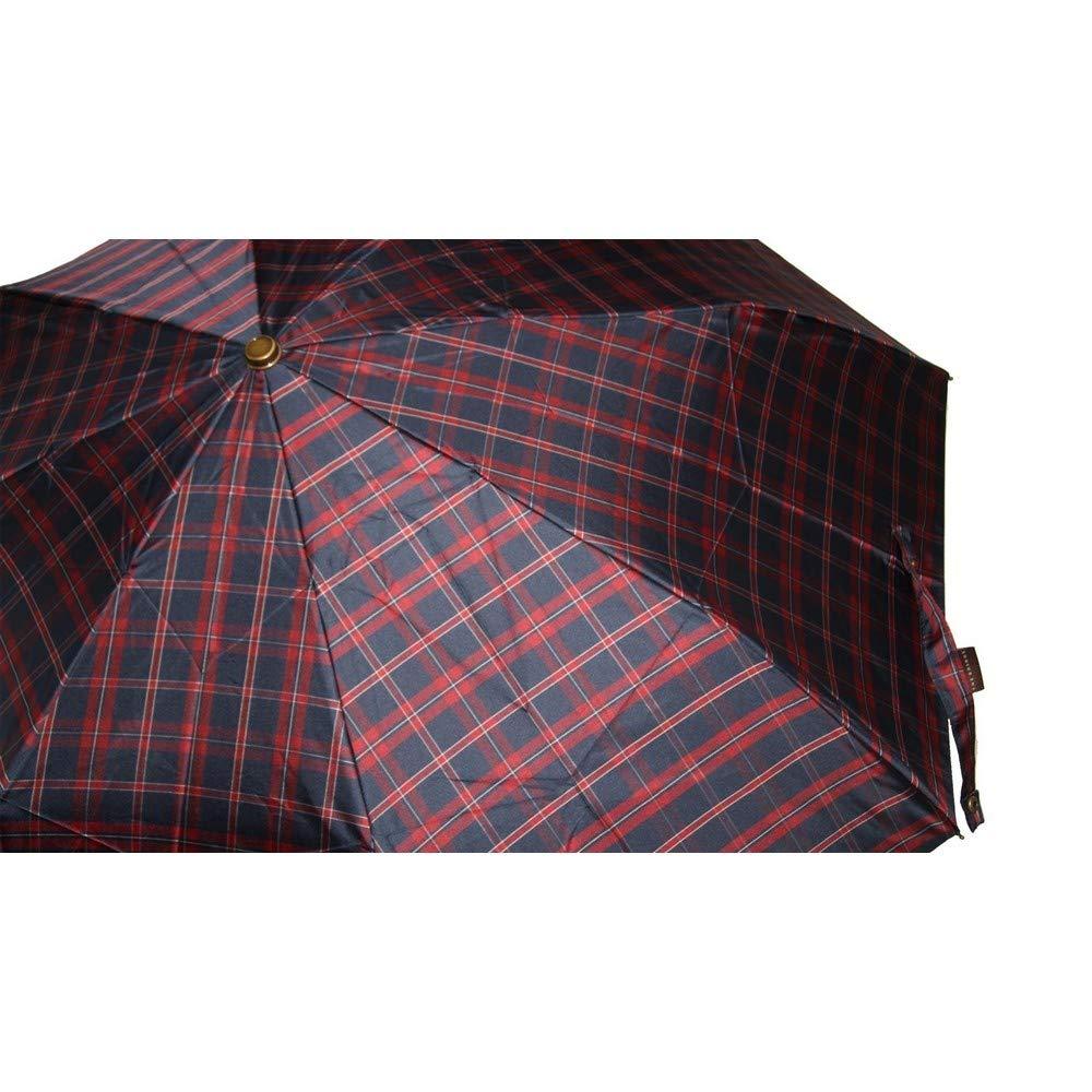 eae00cad81 Ombrello uomo pieghevole The Bridge men's mini umbrella 7001 bordo:  Amazon.it: Valigeria