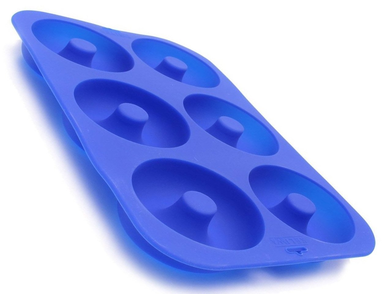 Keliwa Silicone Donut Baking Pan/Non-Stick Donut Mold/Dishwasher, Oven, Microwave, Freezer Safe 636824685071