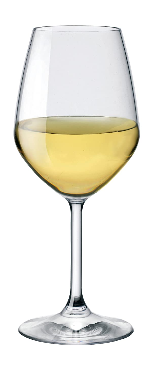 Amazon.com | Bormioli Rocco Restaurant White Wine Glass, Set of 4 ...