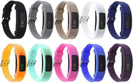 Replacement Silicone Bracelet Wrist Strap for Garmin Vivofit 1//2 Fitness Tracker