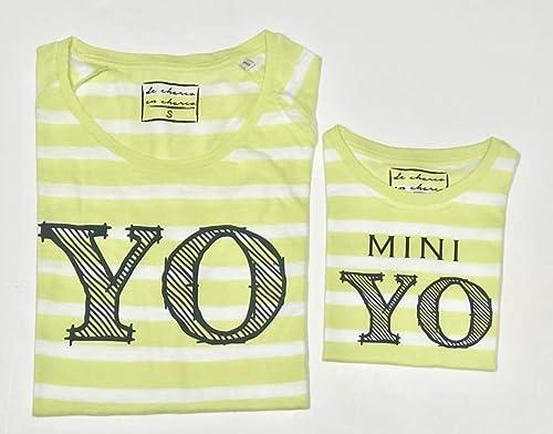 PACK Camisetas M/C Yo - Mini Yo (Adulto + Niño/Niña o Bebé ...