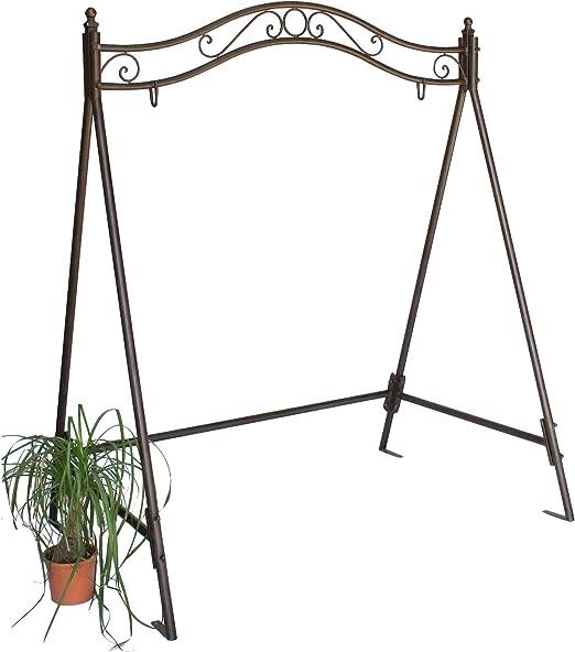 Estructura para balancín 082505 columpio de jardín de hierro, estructura metal: Amazon.es: Jardín