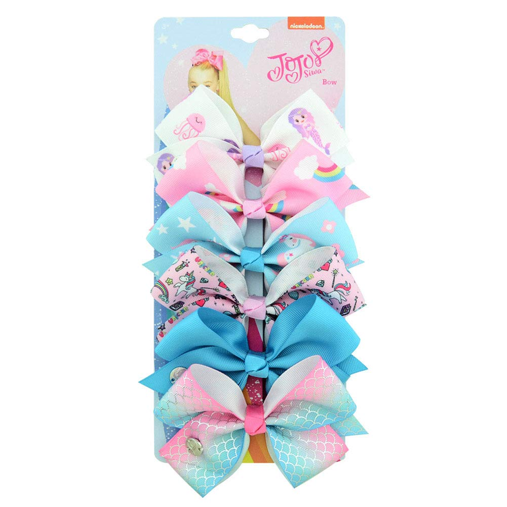 6PCS Kids Hair Clips Baby Girls Toddler Multicolour Fashion Toddler Barrette