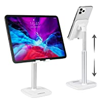 CHOETECH Phone Stand, Angle Height Adjustable Desktop Phone Holder Compatible with iPhone 11 Pro Xs Xs Max Xr X 8, iPad…