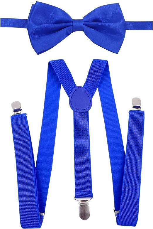 Bretelles pour Pantalon Ceinture 4 Clips Carnaval Jeans Élastique de