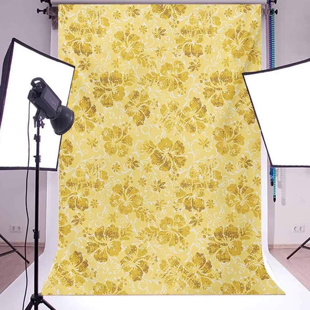 8x10 FT Photography Backdrop Tribal Flower Pattern with Oriental Elements Culture Motifs Arrangement Background for Party Home Decor Outdoorsy Theme Vinyl Shoot Props Multicolor