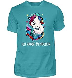 Das frühe Einhorn fängt Regenbogen Damen T-Shirt Unicorn spruch fun süß kinder