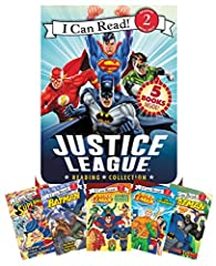"""""""This collection contains a set of five early reader books about superhero adventures and is a great way to encourage new readers to practice their skills and build confidence as they finish each volume. All books in the box are level ..."""