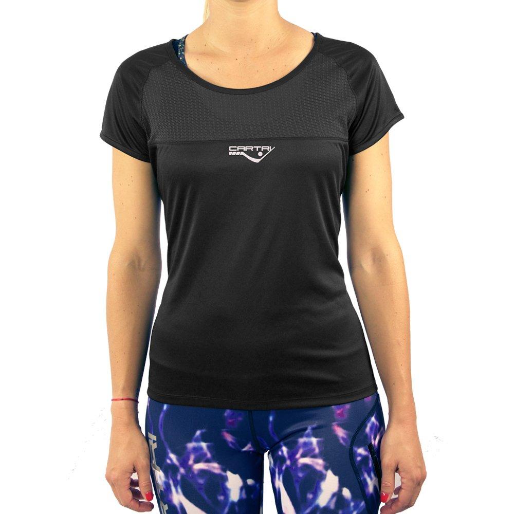 CARTRI - Camiseta Sally Black: Amazon.es: Deportes y aire libre