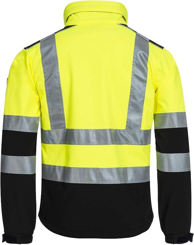 Manteau de Securite Parka de Travail R/éfl/échissant Veste Haute Visibilit/é NITRAS Motion TEX VIZ