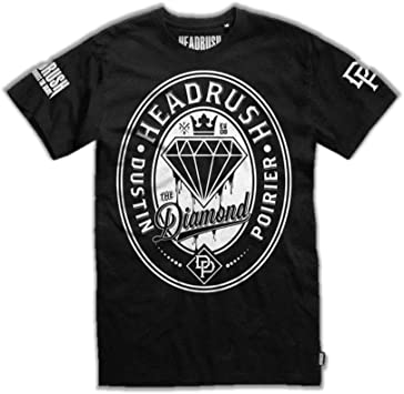 Headrush Diamond Dustin Poirier Walkout - Camiseta para Hombre, Color Negro