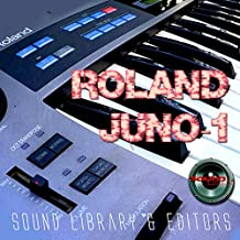 for ROLAND Alpha Juno-1 Large Original Factory & NEW Created Sound Library & Editors on CD or download
