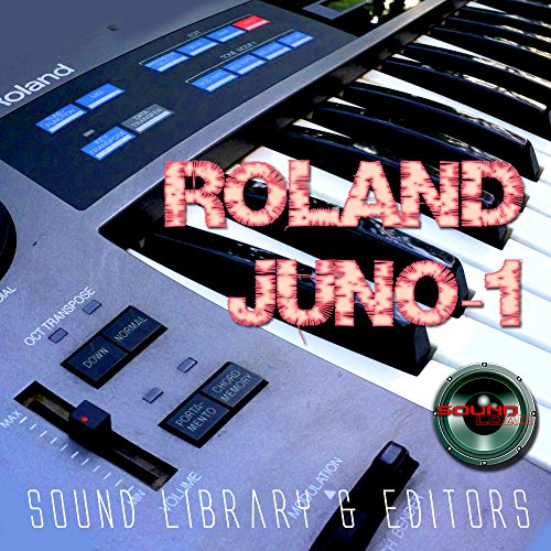 for ROLAND Alpha Juno-1 Large Original Factory & NEW Created Sound Library & Editors on CD or download by SoundLoad