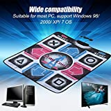 Non-Slip TV Dance Mat DDR Dancing Pad Blanket for