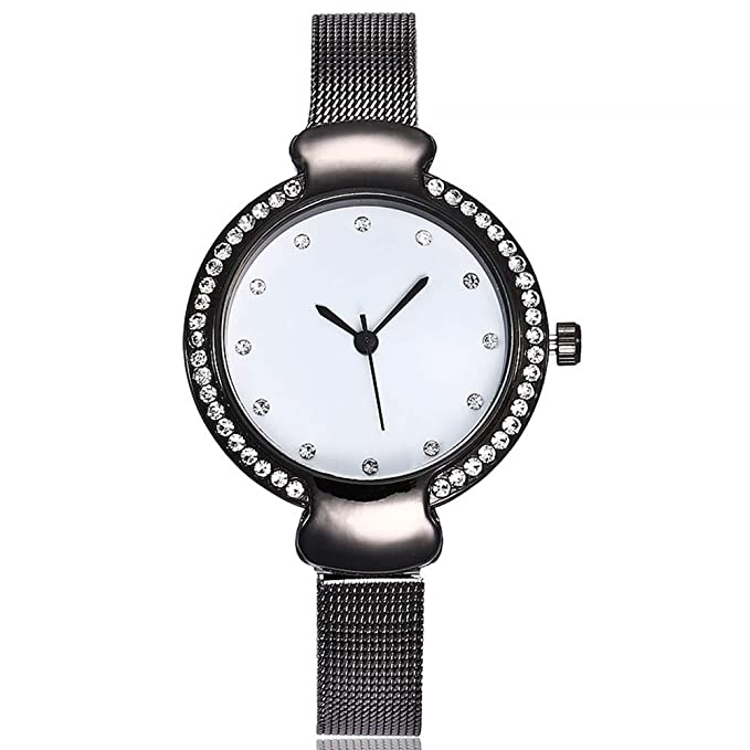 Amazon.com: FEDULK - Reloj de pulsera para mujer con correa ...