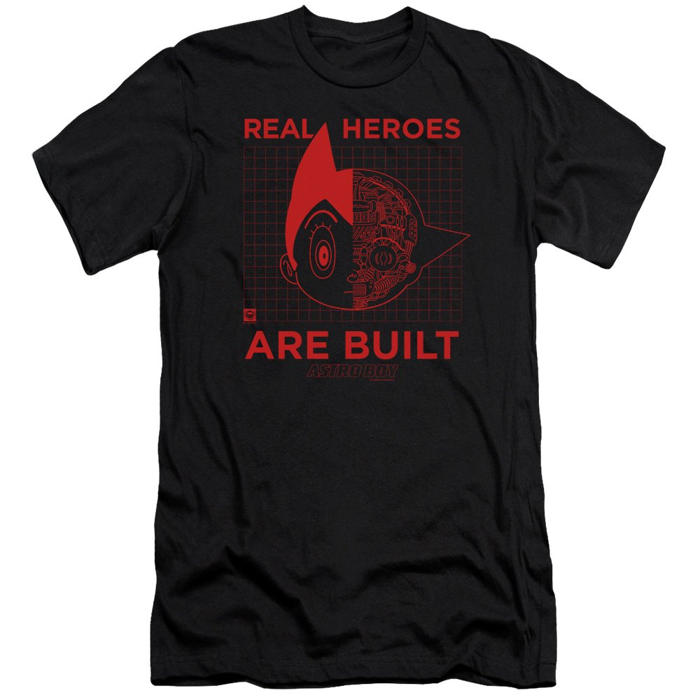 Astro Boy Real Hero S Shirt Black