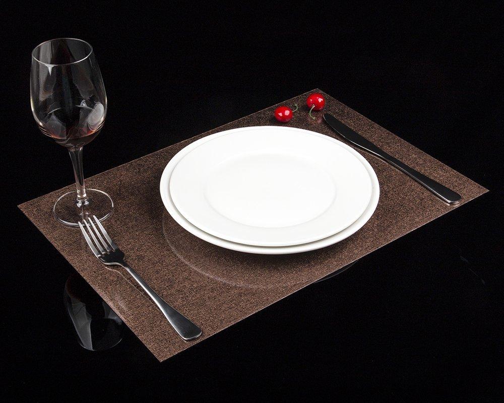 amazon com tomsoo double sided pvc dining room waterproof