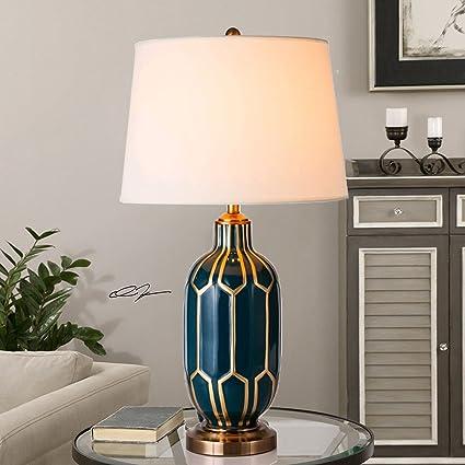 LIUWUFENG Lámparas de Mesa de cerámica - Lámparas de ...